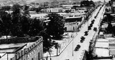Historia de la Alameda de la Federación