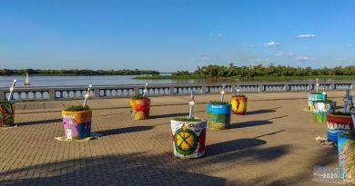 Mates gigantes: Atracción de la Fiesta del Mate 2020