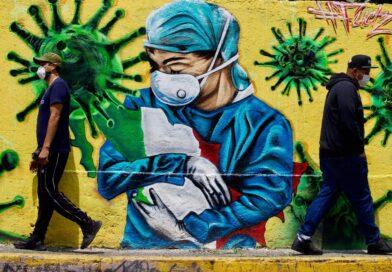 La pandemia en forma de arte a través de grafitis en cada rincón del mundo. Parte 2