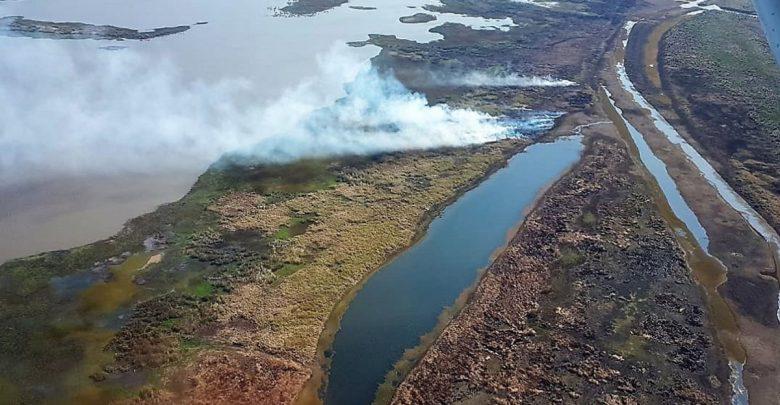 Ruralistas en contra de declarar el delta como reserva natural. Desmienten ser culpables de los incendios.