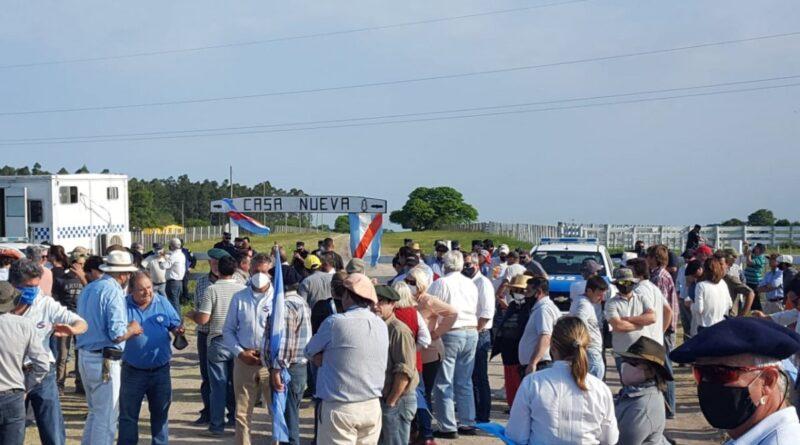 Bordet afirmó que en Entre Ríos no hay grupos que usurpan tierras
