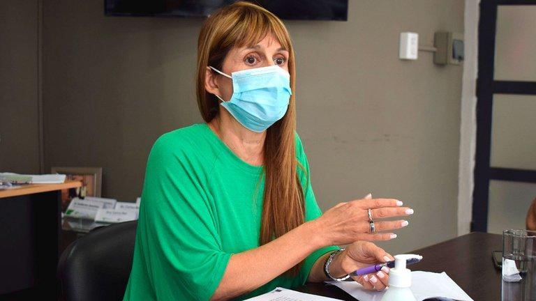 Sonia Velázquez, ministra de Salud de Entre Ríos, dijo que no van a publicar la lista de «vacunados estratégicos»