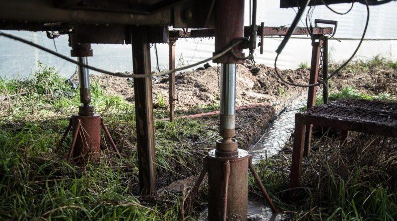 La Municipalidad construye un nuevo pozo de agua en el Parque Hortícola